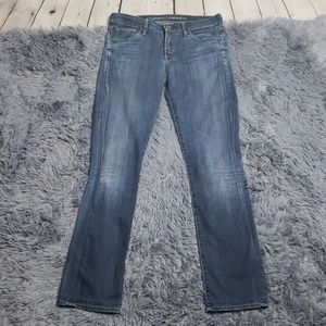 "COH ""Ava"" Low Rise Straight Leg Jeans"